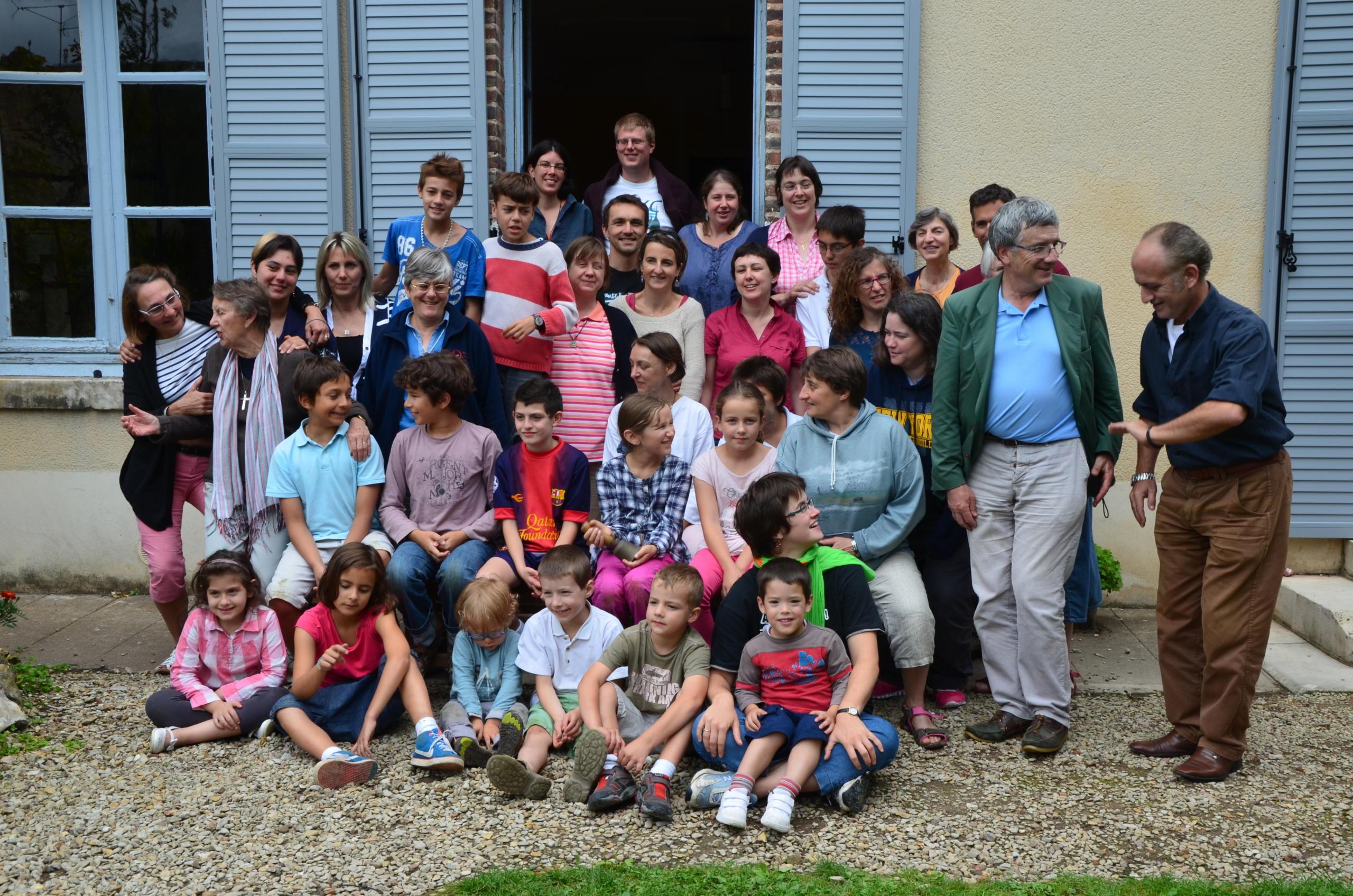 Une famille en Eglise